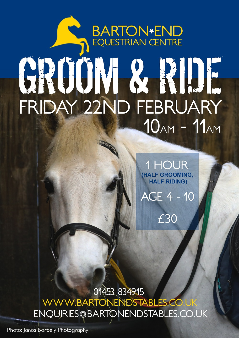 Groom and Ride